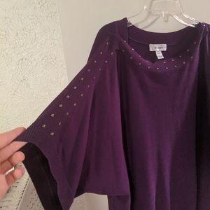 Dress Barn 1x sweater